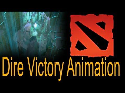 Dota 2 Dire Victory Animation