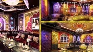 Thiết kế phòng karaoke phong cách cổ điển
