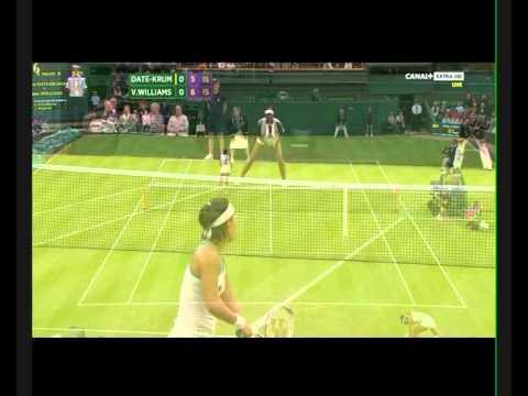 Venus Williams vs. Kimiko Date-Krumm (PART 1)