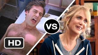 The 40 Year Old Virgin vs Bridesmaids - Which is the Better Apatow Produced Movie? - HD