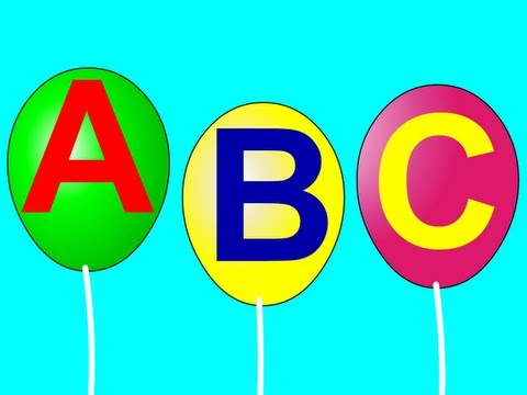 Alphabet Song Traditional - ABC Song Nursery Rhyme