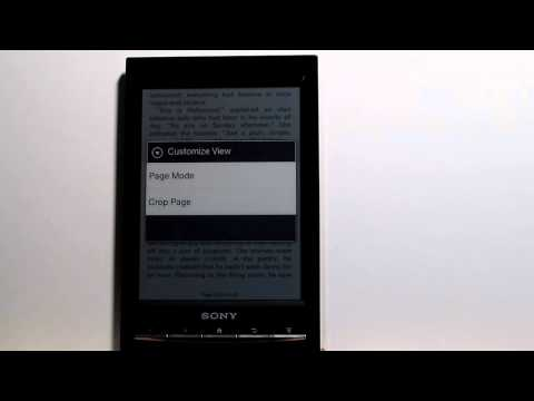 Review: Sony Reader WiFi PRS-T1 eBook Reader