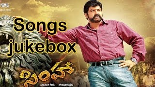 Simha Telugu Movie Full Songs || Jukebox