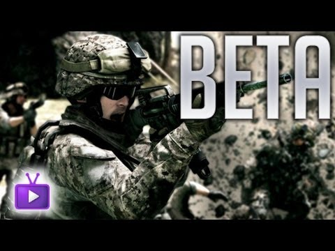 ★ Battlefield 3 - BF3 Beta Gameplay - Caspian Border, ft. SideStrafe! - WAY➚