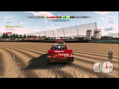 NASCAR The Game 2011 Hilarious and Epic Crashes 12/22-12/23