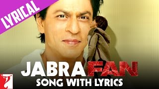 Jabra FAN Anthem Song with Lyrics | Shah Rukh Khan