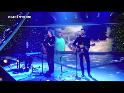 Snow Patrol Lifening Comic Relief 2013