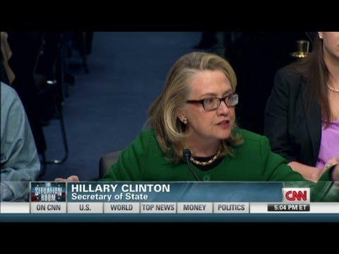 Clinton, senators clash over Benghazi