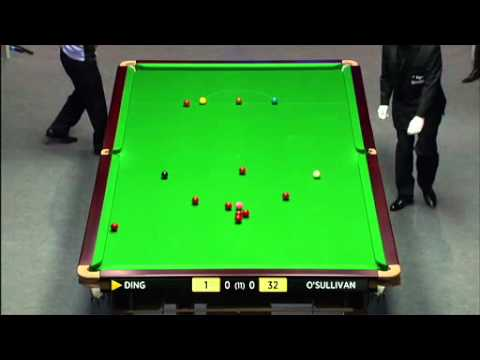 RONNIE O'SULLIVAN vs DING JUNHUI  UK MASTERS SNOOKER 2012 FRAME-1.