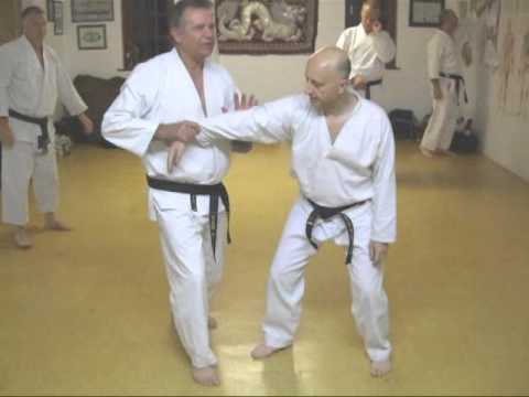 TOM HILLS DOJO - Goju Karate - Self defense combat blocks & arm bar counter measures