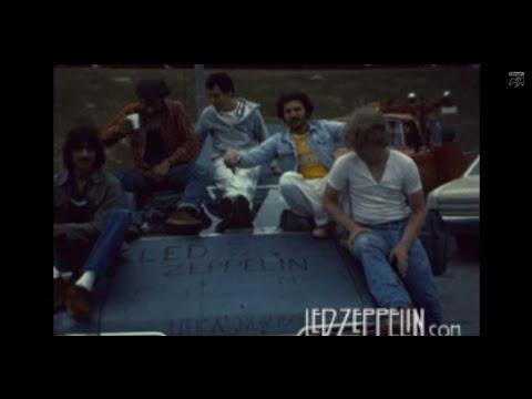 Led Zeppelin : Landover 1977 Rare 8mm Film