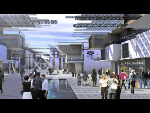 Ain Diab Casablanca Maroc projet architecture développement durable c4d Rhino jury diplome