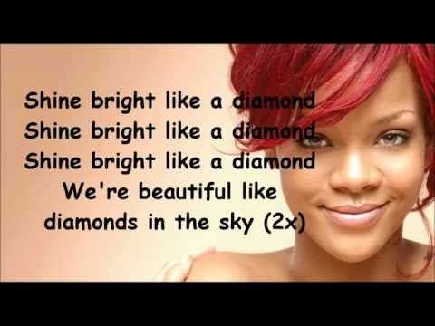 Rihanna Diamonds lyrics NEW SONG