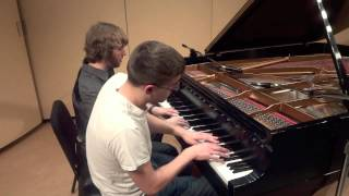 The Legend of Zelda - Medley - Piano Duet FT. Frank Tedesco