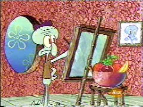 squidward paints moar krabs