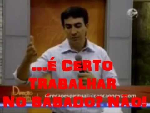 O PADRE FÁBIO MELO ASSOMBRA À IGREJA CATÓLICA SOBRE  O SÁBADO -  ELE ESTÁ CERTO!!