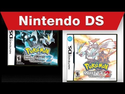Nintendo DS - Pokémon Black Version 2 Pokémon White Version 2 Teaser Trailer