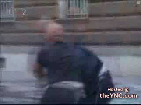 Two Big Ass Police Officers Start Fighting Each Other The YNC com