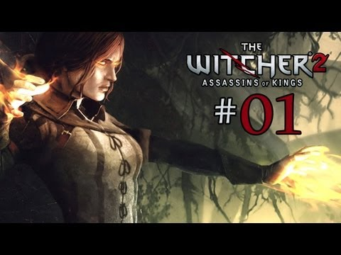 Let's Play The Witcher 2: Part 1 - Intro & Tutorial