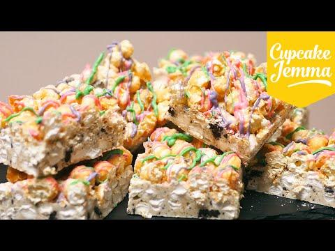 Rainbow Rocky Road Recipe | Cupcake Jemma