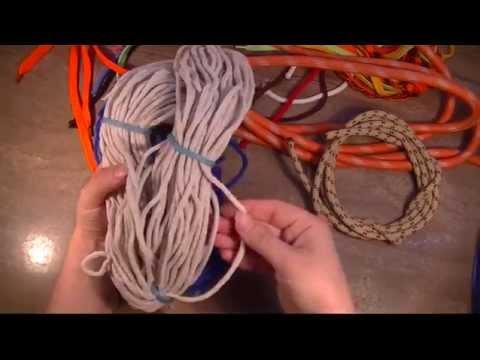 Шнур для вязания ковров промтекс