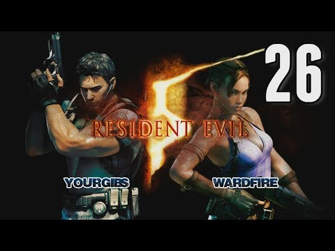 Resident Evil 5 Coop [26] w/YourGibs, Wardfire - SHEVA TRAPPED ON SHIP DECK OF TANKER - Chapter 6-1