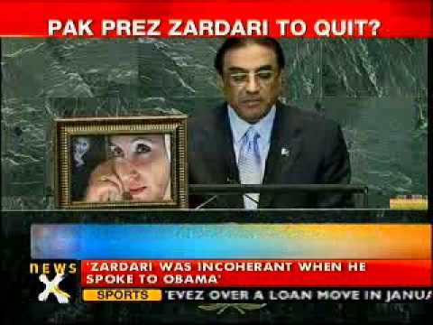 Zardari likely to resign over ill health