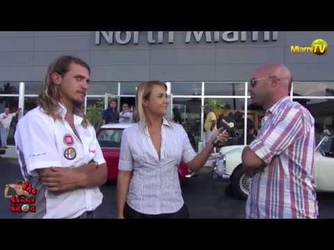 Miami TV Life - Jenny Scordamaglia con Juan y Santiago @ Argentina Alaska en Fiat 600