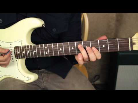 Stevie Ray Vaughan - Tightrope - Blues Guitar Lessons - texas blues srv