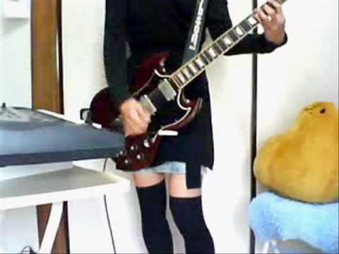 メタル布教活動としてShe's Goneのギターとピアノパートを弾いてみた