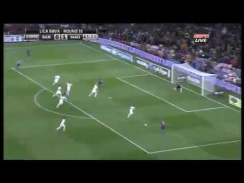 Barcelona vs Real Madrid 1-2  La liga All Goals & Highlights 21 April 2012