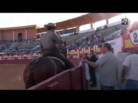 Corrida de Rejones desde Ejea de los Caballeros, emitido por Aragón TV el 26 de junio de 2011.