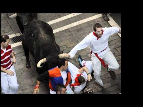 segundo encierro de San Fermín en fotos...