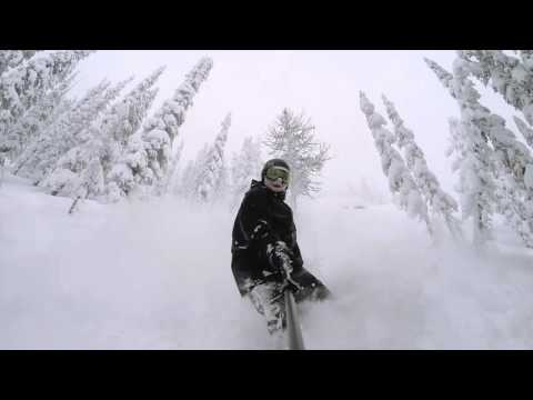 GoPro Line of the Winter: Chris Stokke - Discovery Ski Area, Montana 02.2.16 - Snow