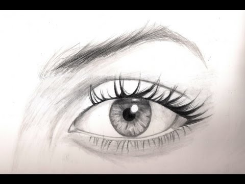 [Realistic Drawing Tutorial 8/8] How To Draw The Eyes - Shading With A Pencil