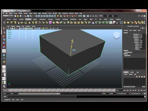 Autodesk Maya 2011 Basics Tutorial Part 1