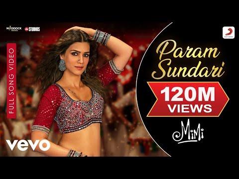 Param Sundari - Full Song Video|Mimi|Kriti, Pankaj T.|A. R. Rahman|Shreya|Amitabh B.