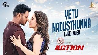 Yetu Nadusthunna Lyric Video - Action