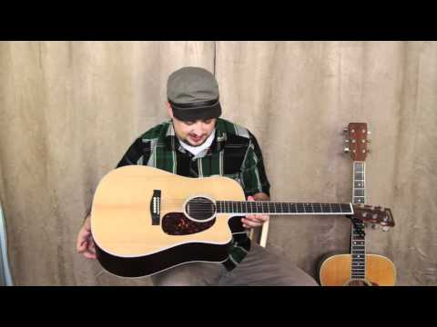 Martin Acoustic Guitars - Marty Schwartz Guitar Lessons Gear Overview: Acoustic Guitars