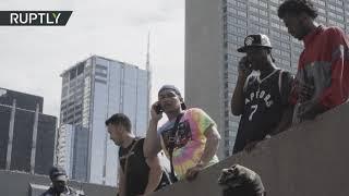 Паника после стрельбы на параде в честь чемпионства «Торонто Рэпторс» в НБА (18.06.2019 15:13)