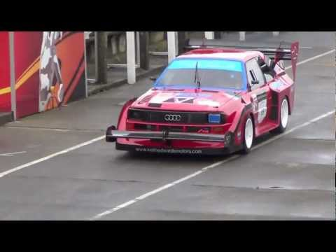 850bhp Audi Quattro Sport 'Pikes Peak' with KEM Racing on the Isle of Man - no music
