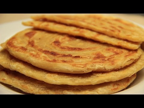 Turkish Flatbread Recipe - Traditional Tahini Butter Flat Bread