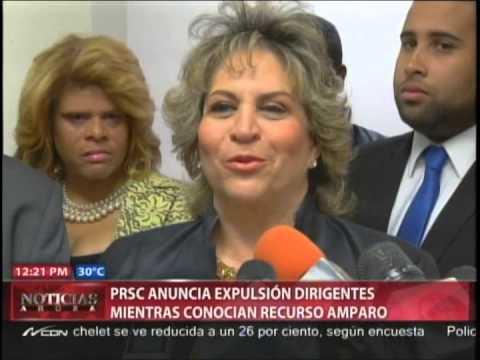 PRSC anuncia expulsión dirigentes mientras conocían…