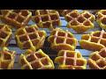Фрагмент с конца видео Вафли картофельные. Необычно в электровафельнице.