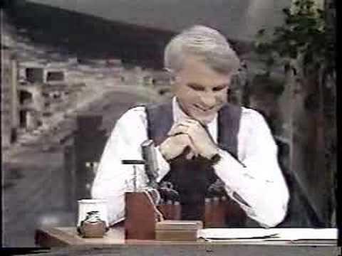 Steve Martin Hosts The Tonight Show w/ Burt Reynolds Part 2