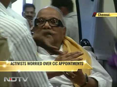 Tamil Nadu: Activists worried over CIC appointments
