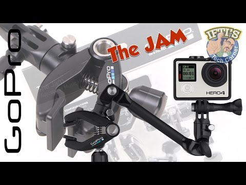 GoPro 'The JAM' : Adjustable Music Mount for Drums, Guitar, Mic Stands & MORE! - REVIEW