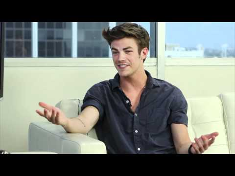 Grant Gustin to Play Finnick in 'Catching Fire'?