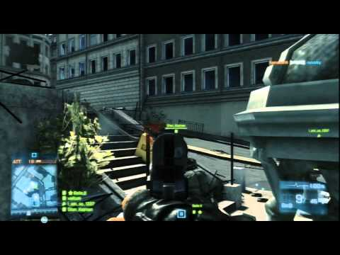 BF3 PS3 gameplay: Seine Crossing Defense (full round)