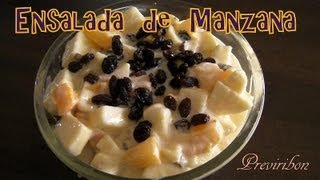Ensalada de Manzana * video 99 *